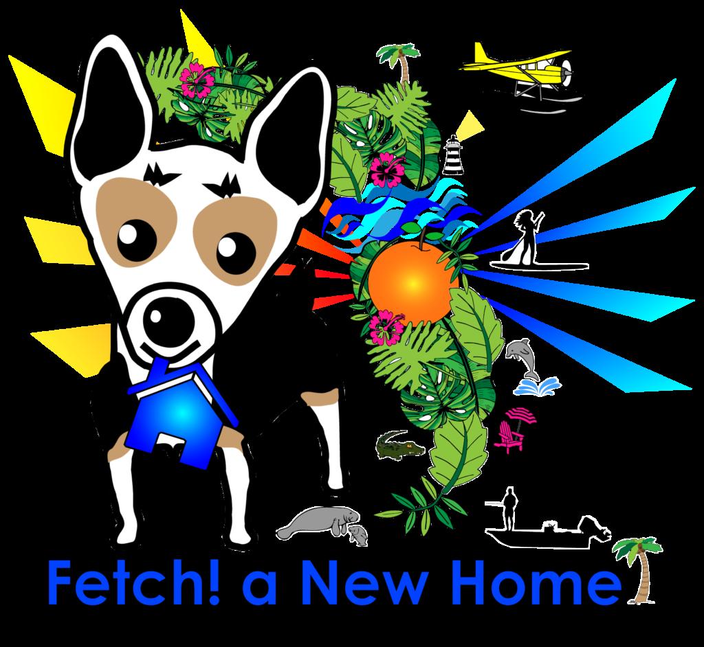 Fetch! a New Home logo